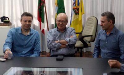 Visita do senador Paulo Bauer em Taió